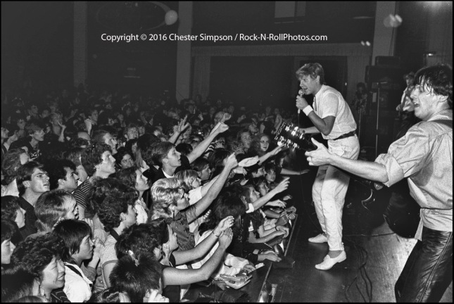Duran Duran tour visits San Francisco in 1982