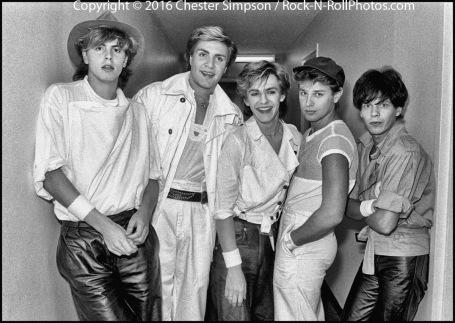 Duran Duran tour visits San Francisco in 1982