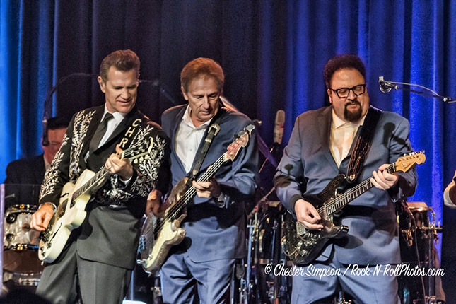 Chris Isaak performing at the Birchmere August 27, 2018