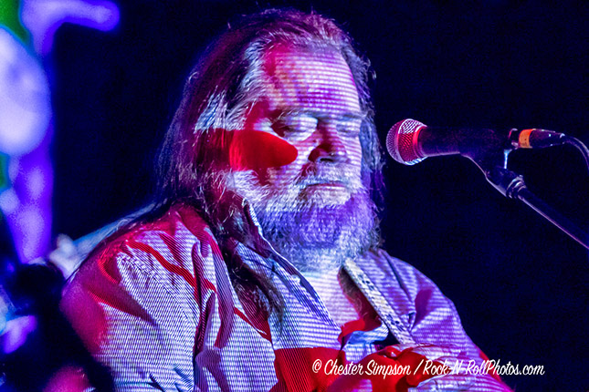 Roky Erickson performing at the Black Cat on Sunday, Oct. 28, 2018