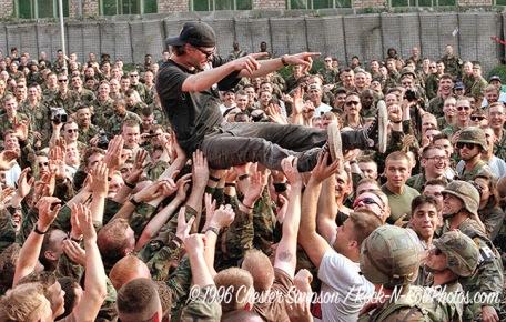 USO Tour/ Gin Blossoms/Tuzla, Bosnia 7/4/96