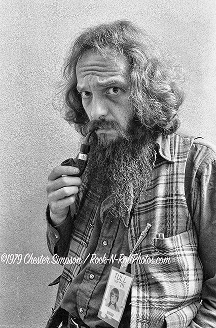 Ian Anderson of Jethro Tull in 1979