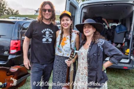 Dwayne Brooke, Lindsay Lou and Tara Linhardt
