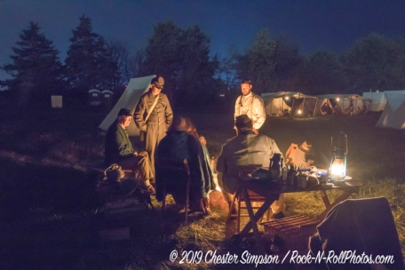 Battle of Cedar Creek Reenactment with over 3000 reenactors